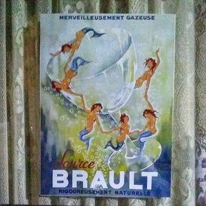 SOURCE BRAULT, VINTAGE PRINT BY PHILIPPE NOYER
